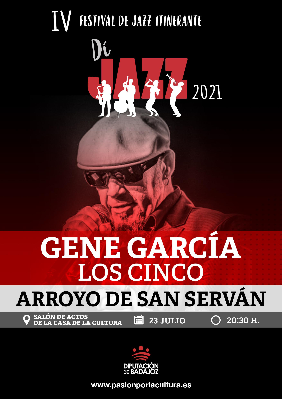 Imagen del Evento Gene García - Los Cinco