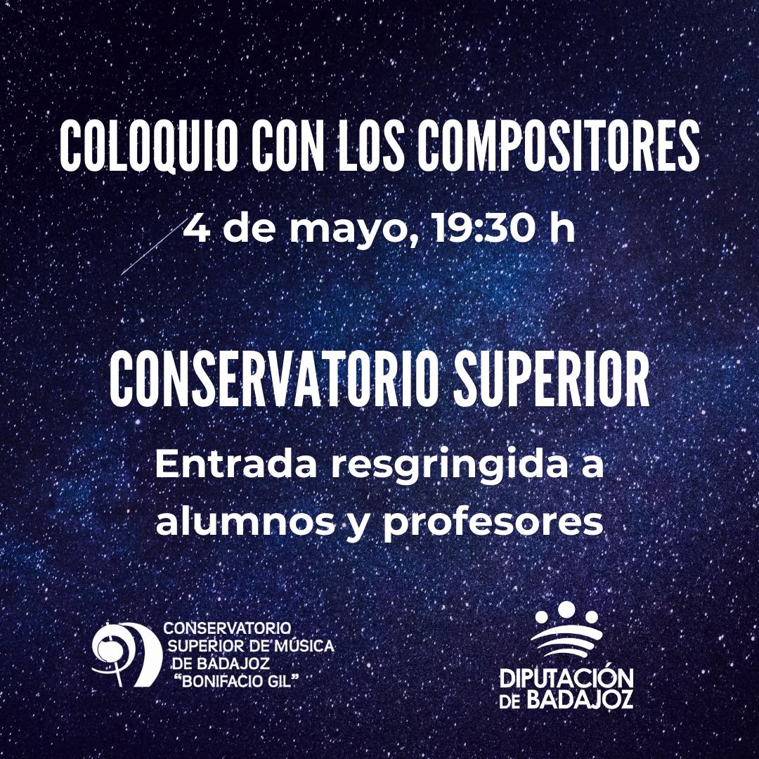 Imagen del Evento Encuentro-coloquio con los compositores Novel Sámano, Daniel Sprintz y Gonzalo Navarro