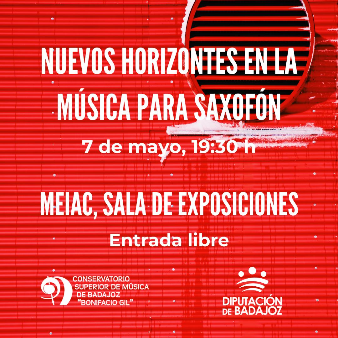 Imagen del Evento Concierto del Aula de Saxofón