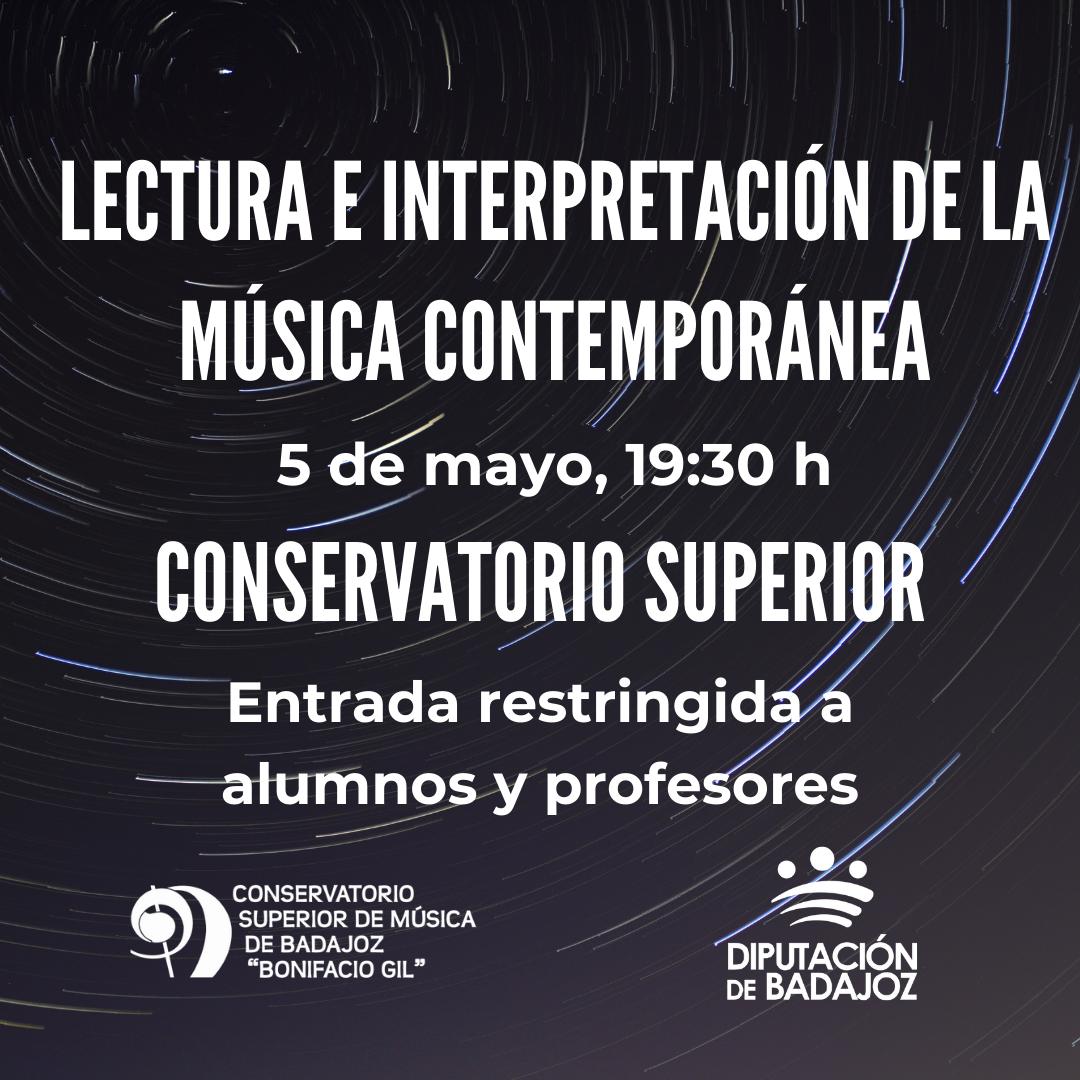 Imagen del Evento Concierto del Aula de Lectura e Interpretación de la Música Contemporánea