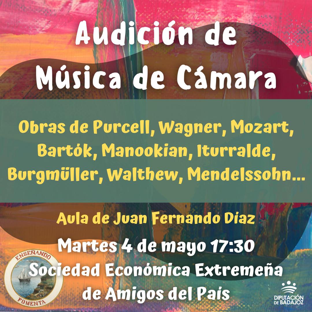 Imagen del Evento Audición de Música de Cámara