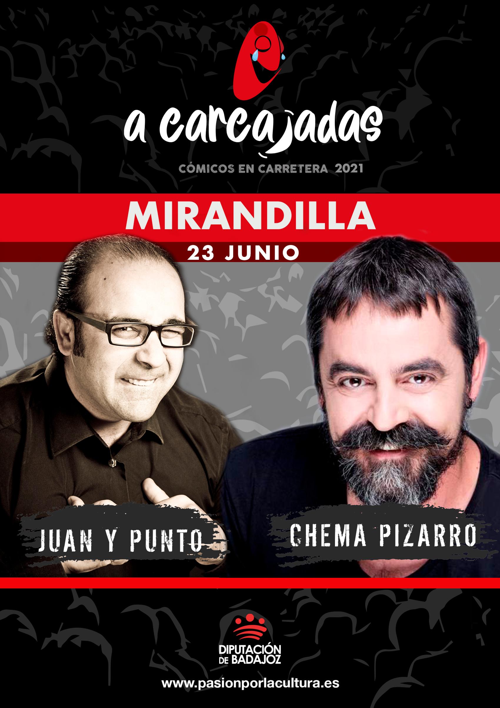 Imagen del Evento Juan y Punto & Chema Pizarro
