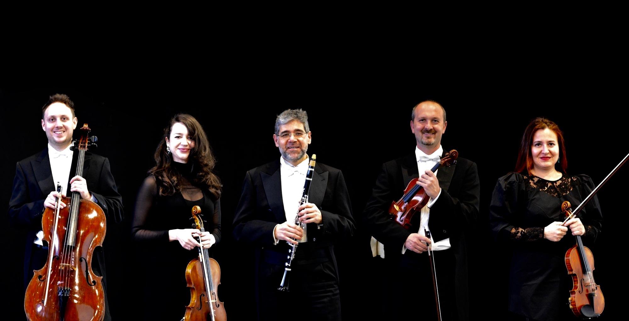 Imagen del Evento Quinteto para clarinete, de W. A. Mozart, y Cuarteto en Sib. M. Op.18, número 6, de L. V. Beethoven