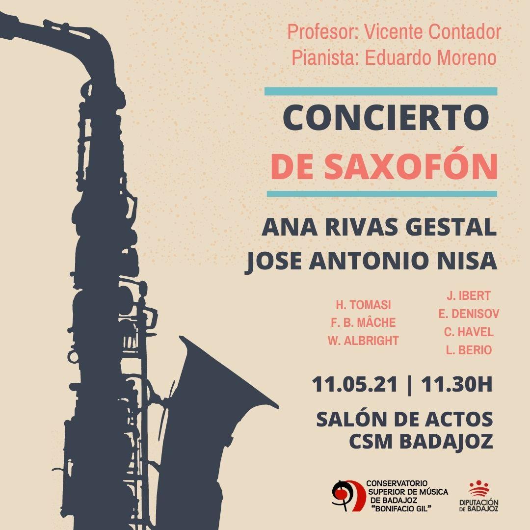 Imagen del Evento Concierto de Saxofón