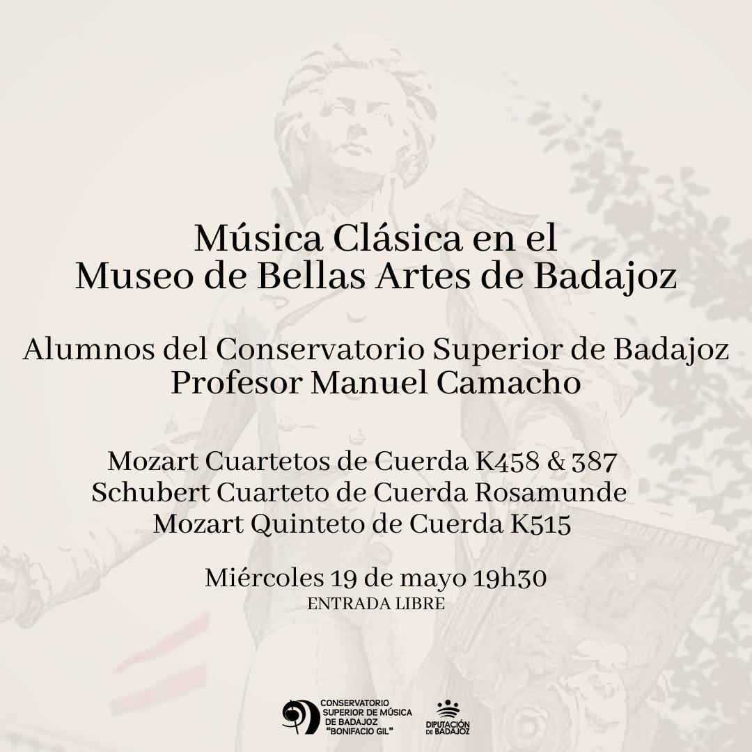 Imagen del Evento Música Clásica en el Museo de Bellas Artes