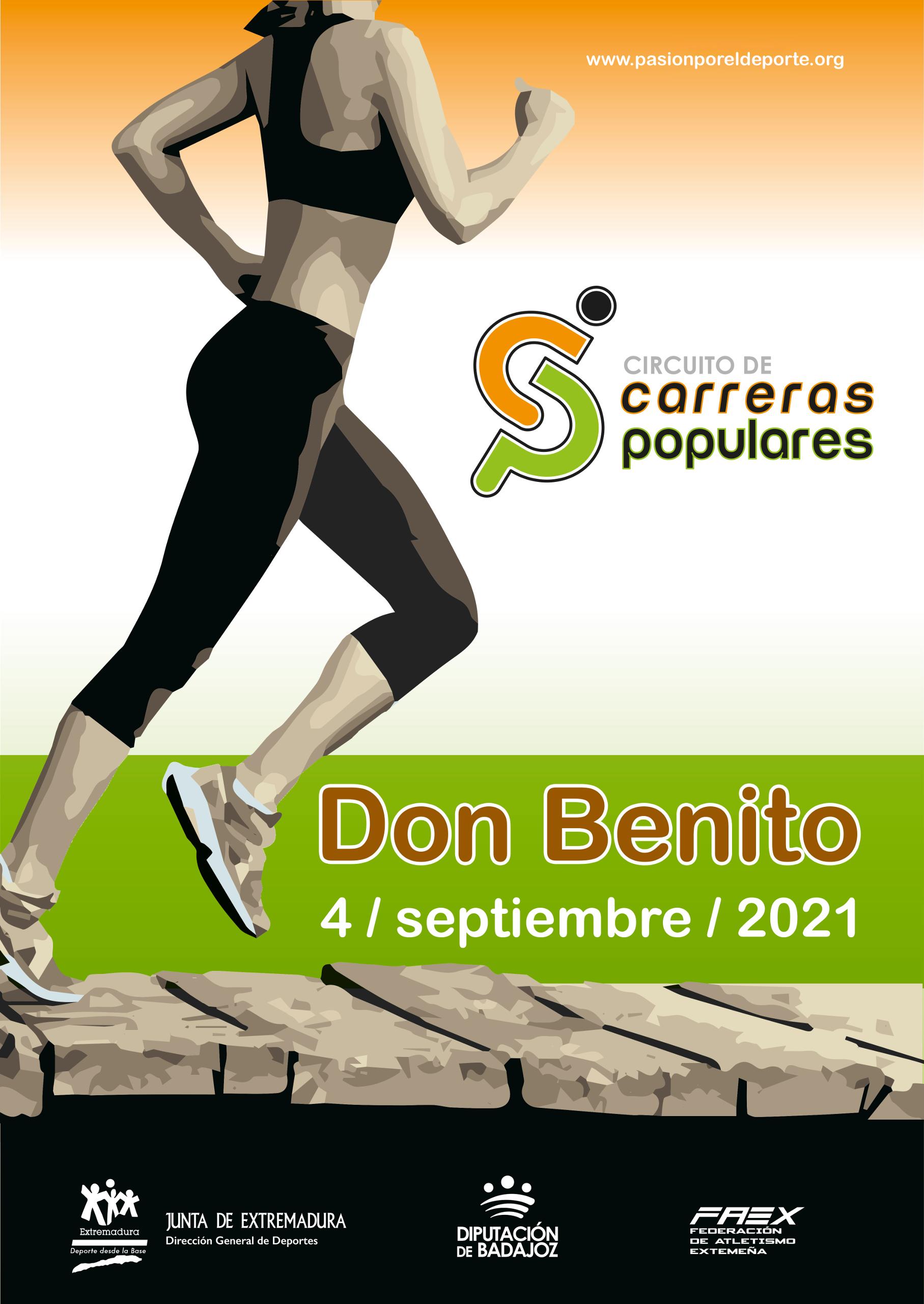 Imagen del Evento Circuito de Carreras Populares en DON BENITO
