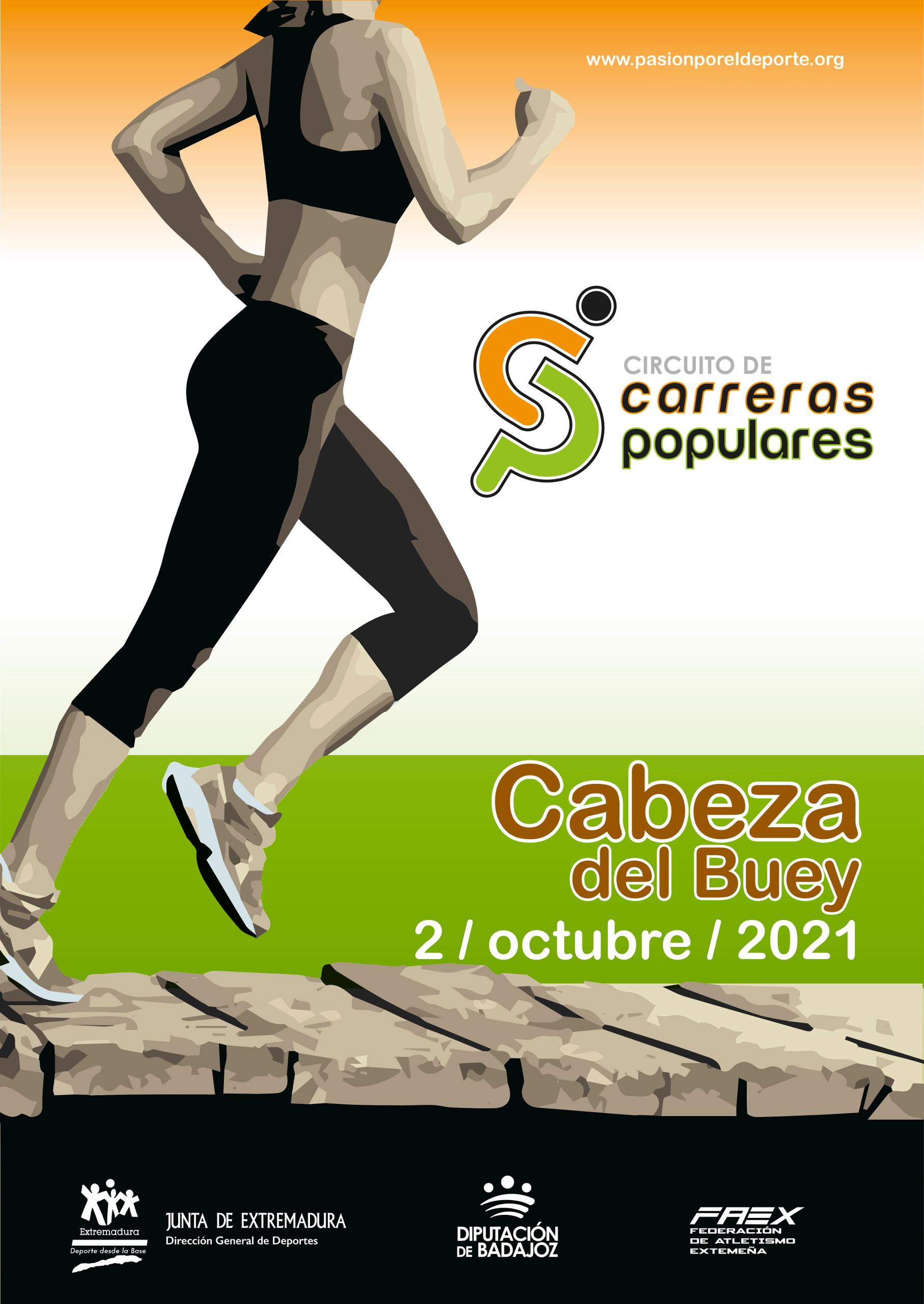 Imagen del Evento Circuito de Carreras Populares en CABEZA DEL BUEY