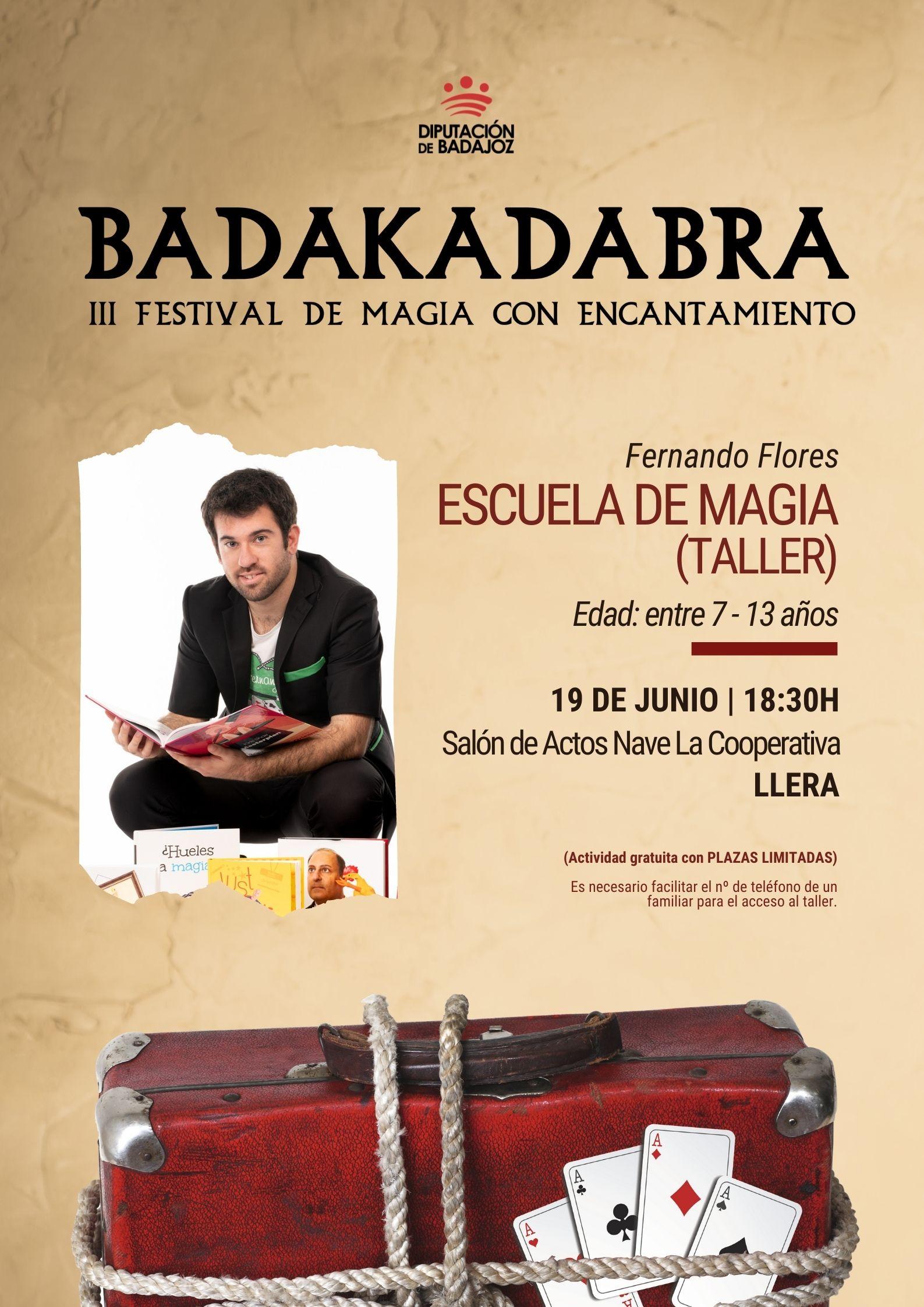 Imagen del Evento Escuela de Magia (taller)