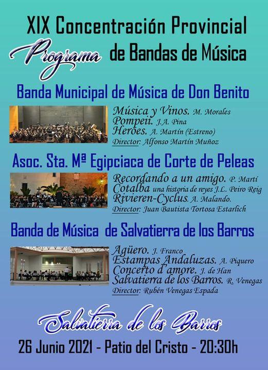 Imagen del Evento XIX Concentración Provincial de Bandas de Música