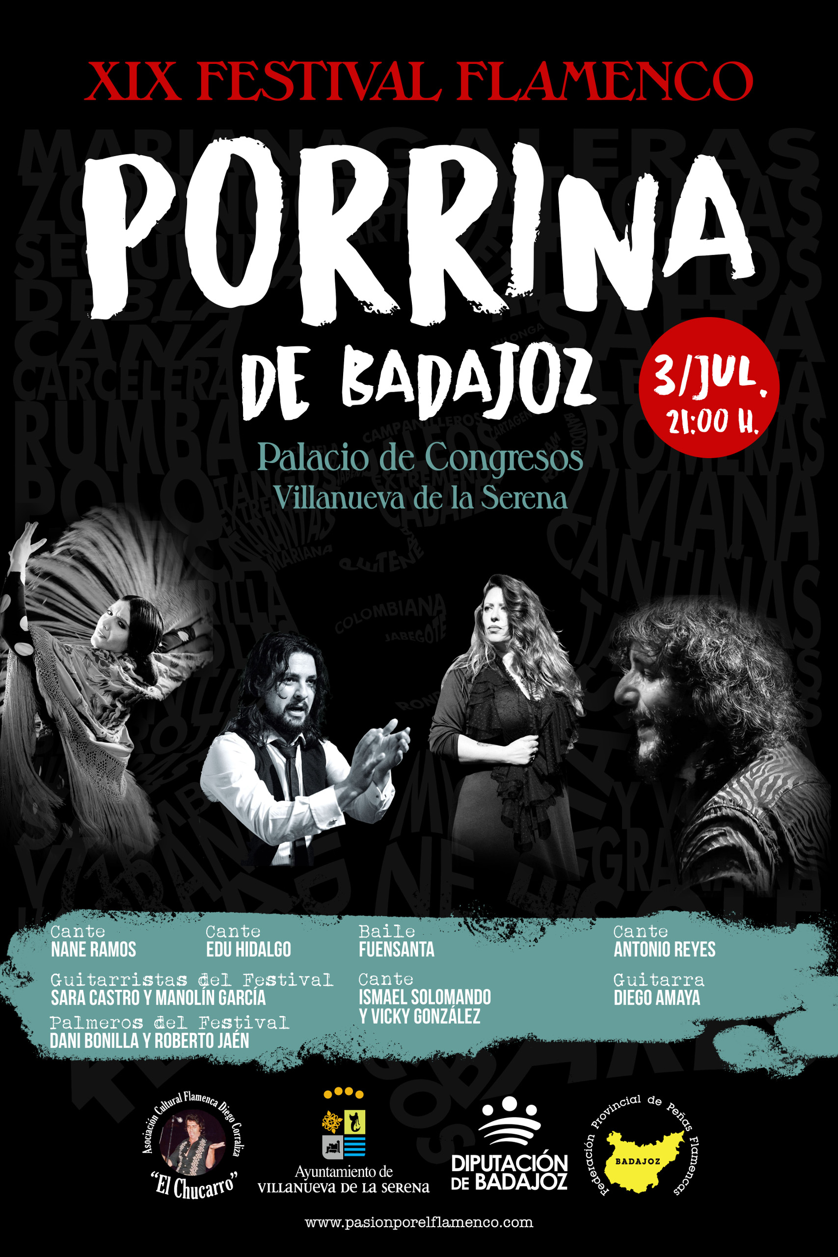 Imagen del Evento Festival Porrina de Badajoz