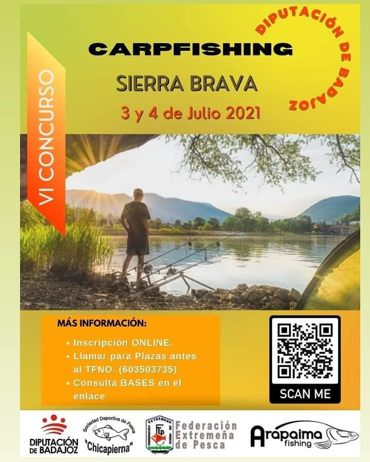 Imagen del Evento VI Concurso Nacional de Carp Fishing Diputación de Badajoz