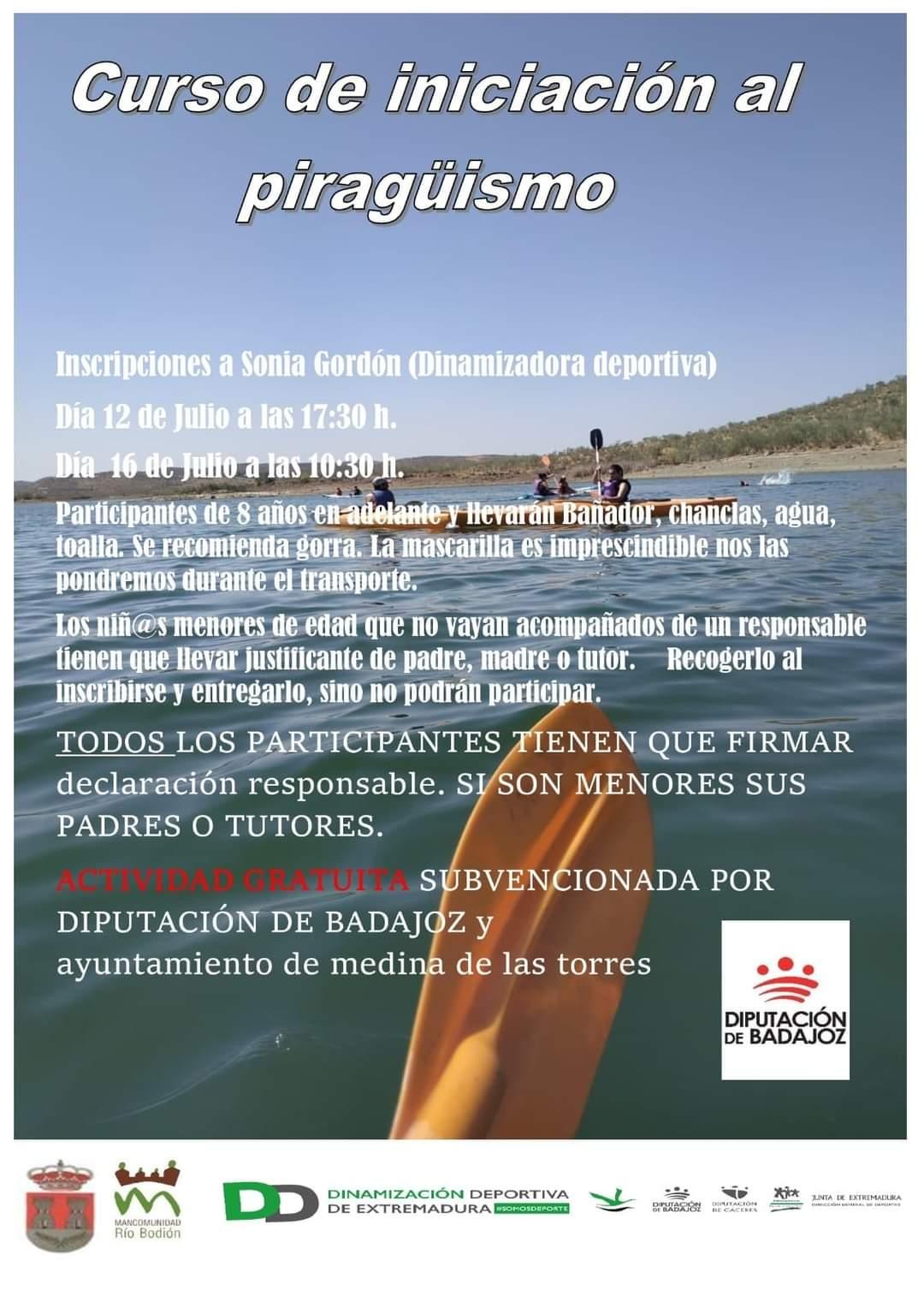 Imagen del Evento Curso de iniciación al Piragüismo