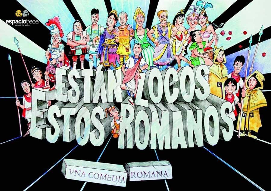 Imagen del Evento Están locos estos romanos