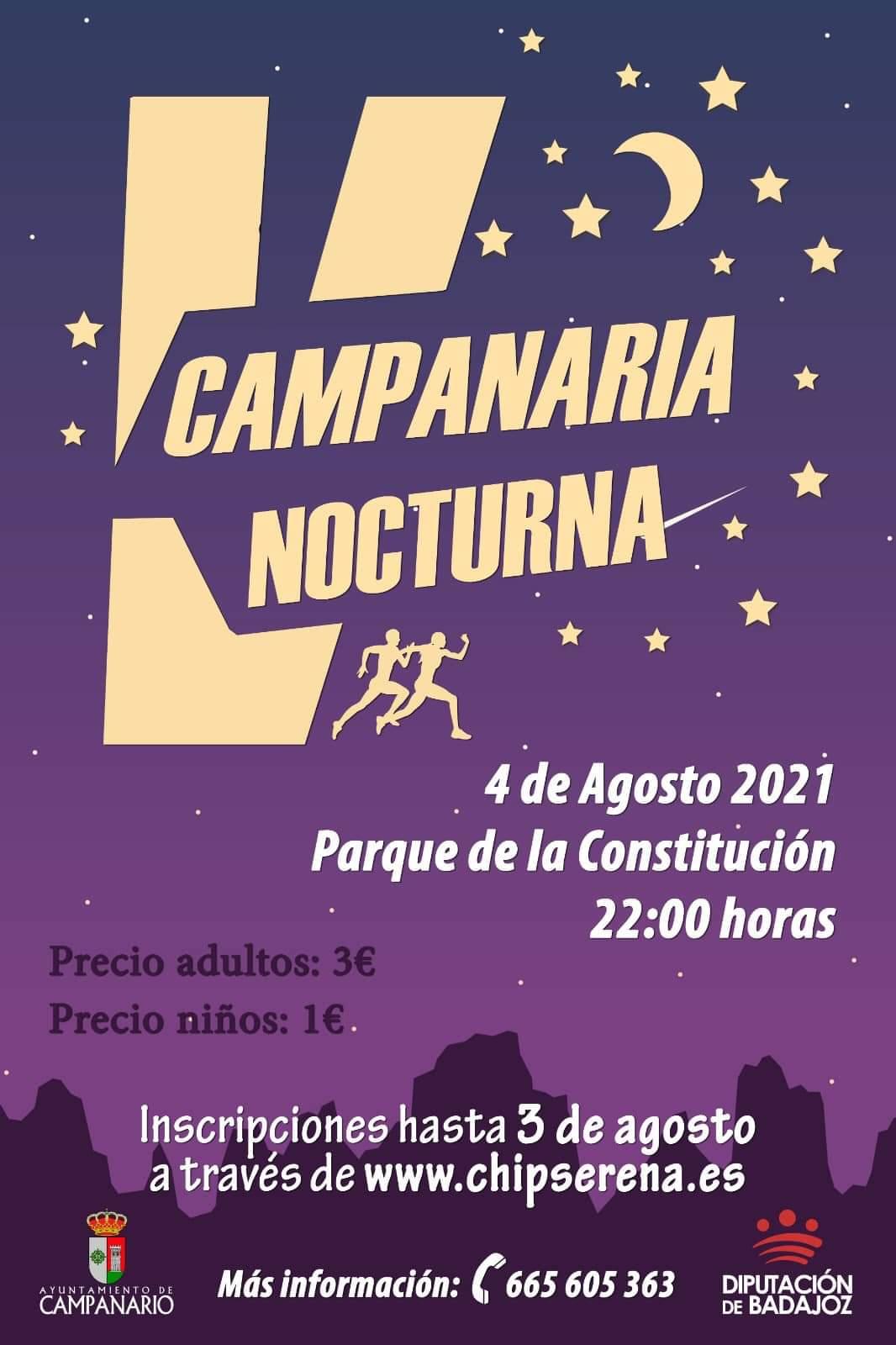 Imagen del Evento V Carrera Campanaria nocturna