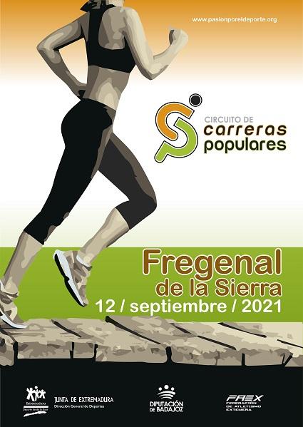 Imagen del Evento Circuito de Carreras Populares en FREGENAL DE LA SIERRA
