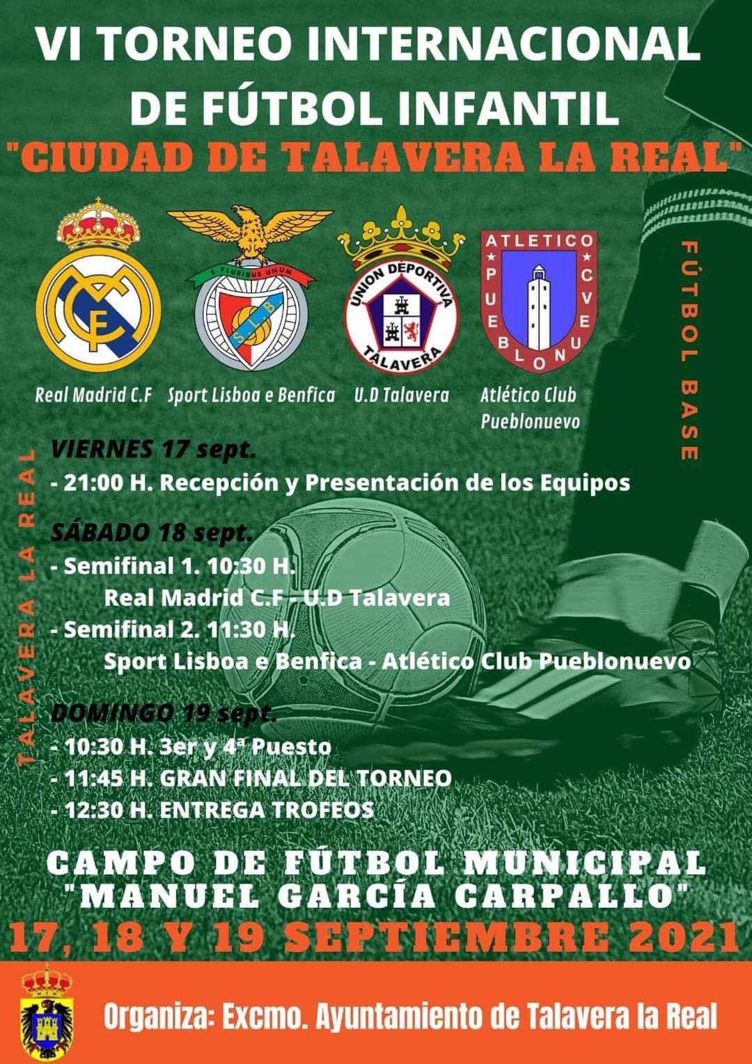 Imagen del Evento VI Torneo Internacional de Fútbol Infantil