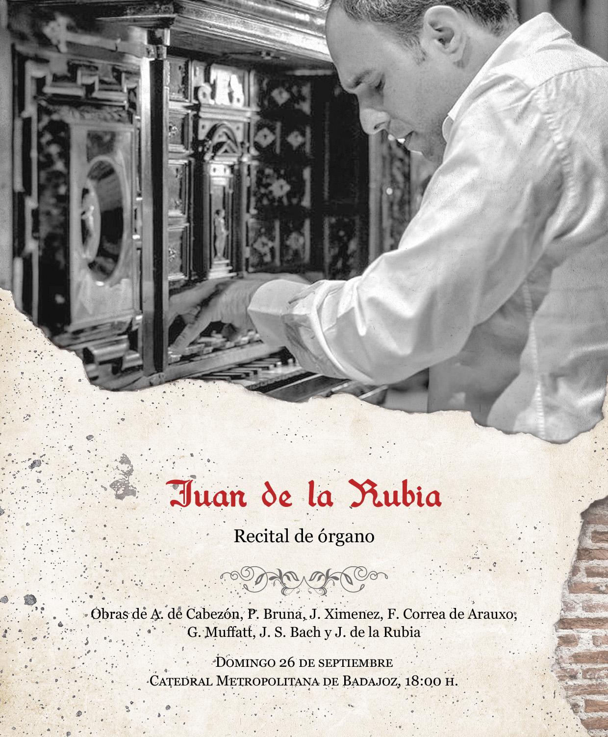 Imagen del Evento Juan de la Rubia, órgano
