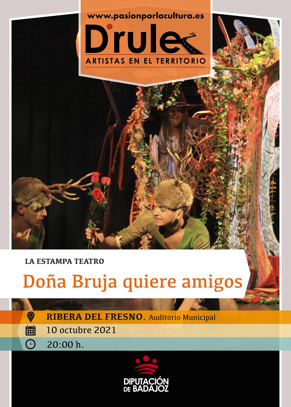 Imagen del Evento Doña Bruja quiere amigos