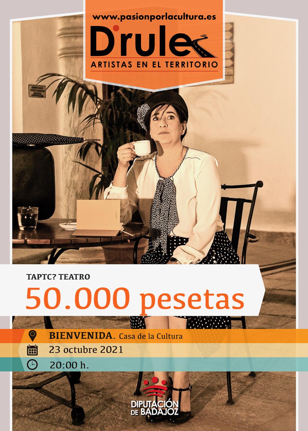 Imagen del Evento 50.000 pesetas