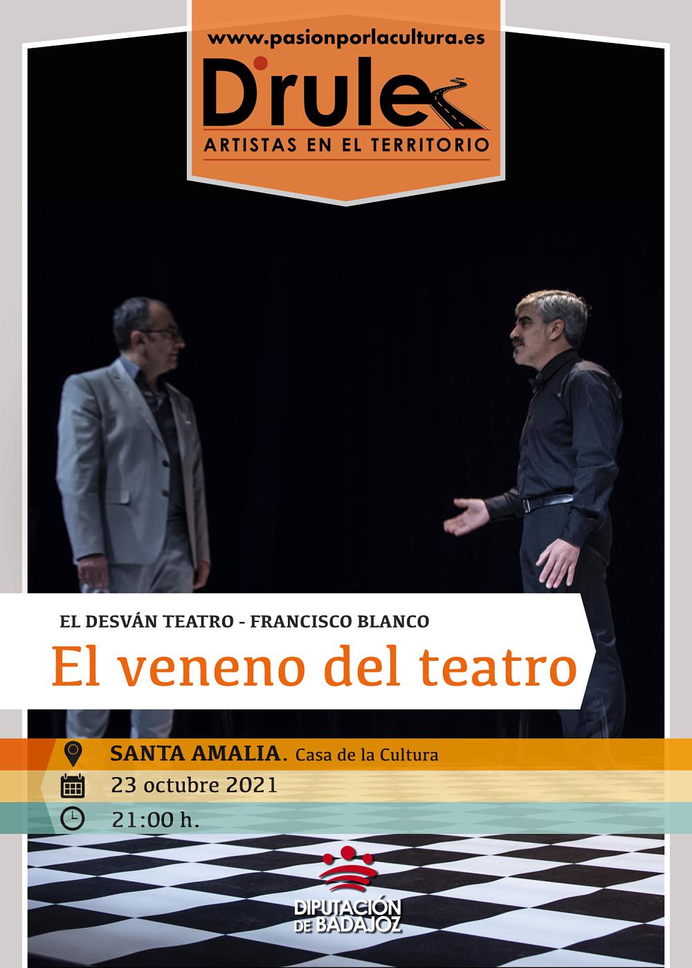 Imagen del Evento El veneno del teatro