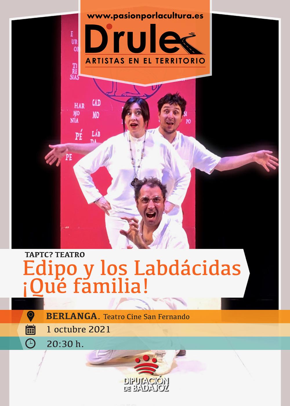 Imagen del Evento Edipo y los Labdácidas ¡Qué familia!