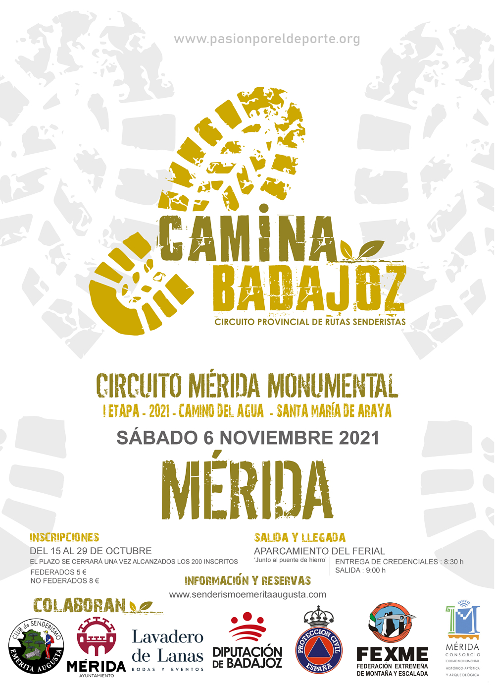 Imagen del Evento Ruta Circuito Mérida Monumental