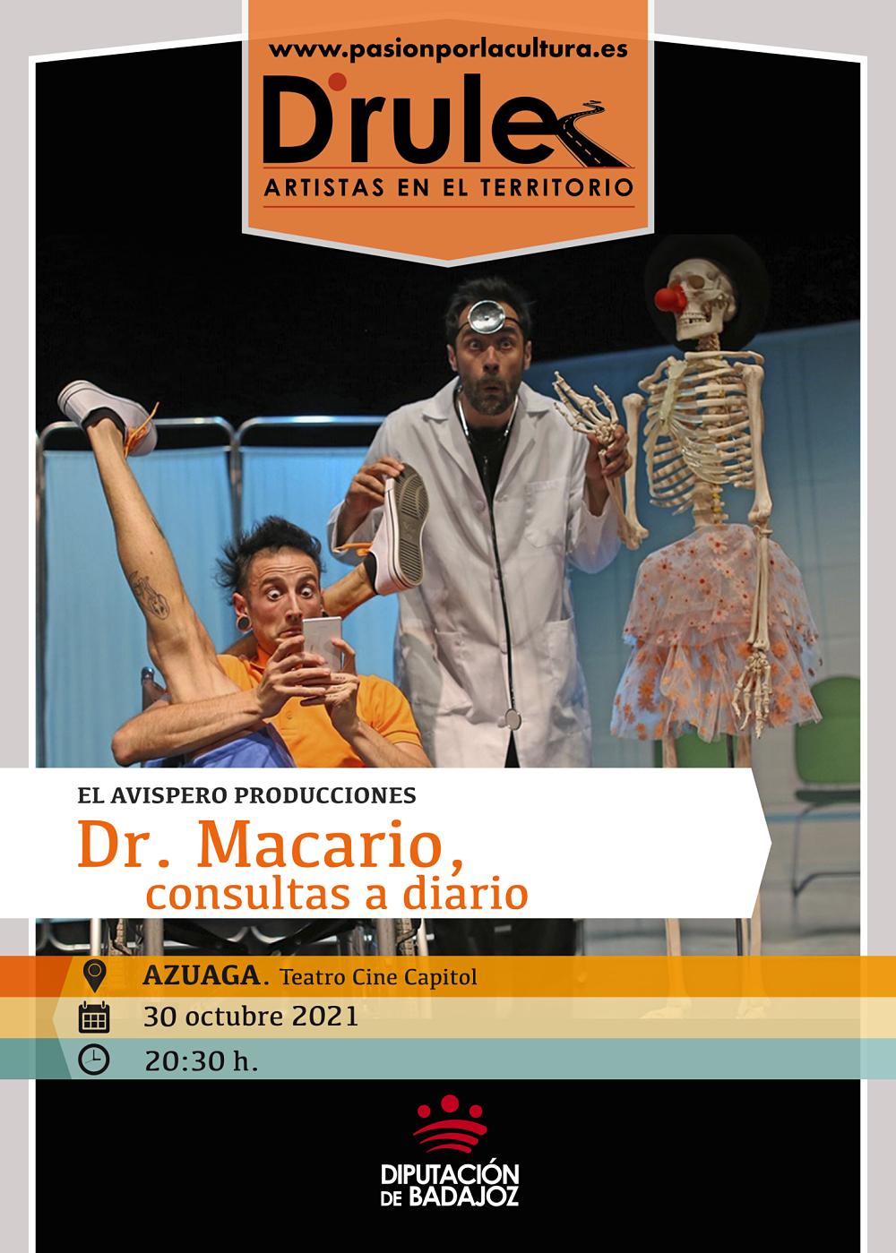 Imagen del Evento Dr. Macario, consultas a diario