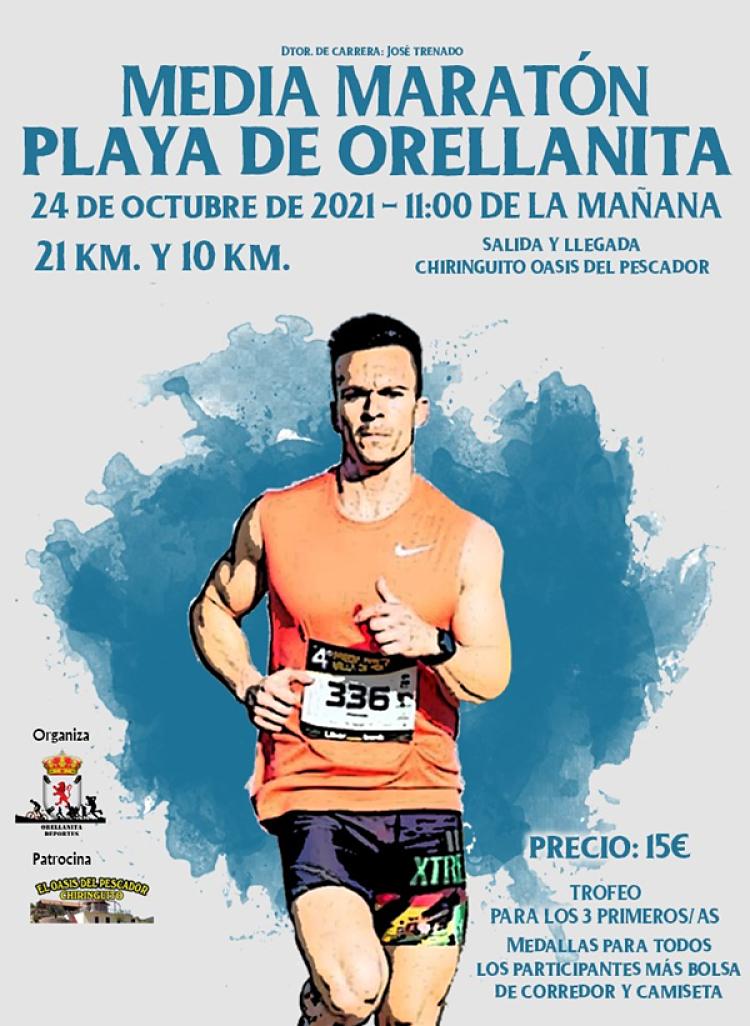 Imagen del Evento Media Maratón Playa de Orellanita