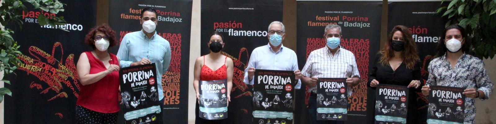 El Festival Porrina de Badajoz se celebrará el 3 de julio en Villanueva de la Serena