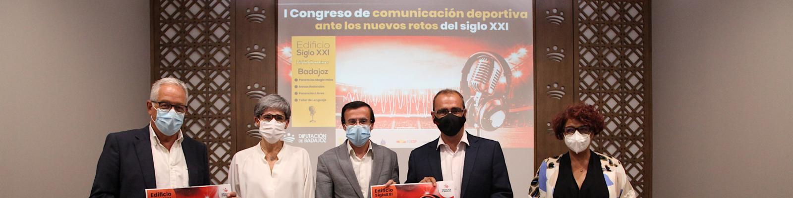 La Diputación de Badajoz abordará en un congreso los nuevos retos del periodismo deportivo