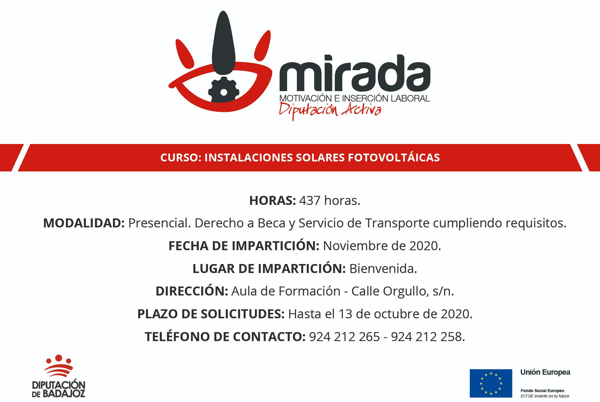 Imagen de la noticia Diputación de Badajoz iniciará en Bienvenida un curso de I?>