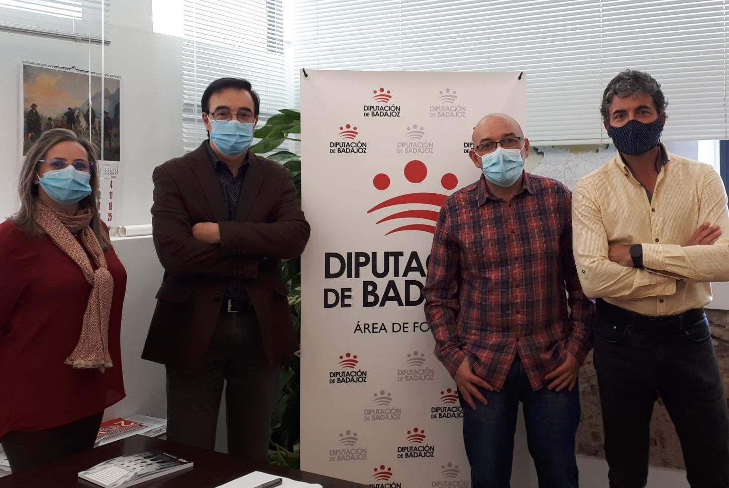 Imagen de la noticia La Diputación y Apamex retoman su colaboración para potenc?>