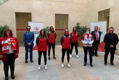 Imagen de la noticia: La Diputación concederá al equipo femenino del S ...