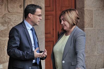 Imagen de la noticia: Hondo pesar en la Diputación de Badajoz ante la m ...