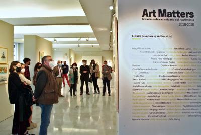 Imagen de la noticia: Inaugurada la exposición 'Art Matters: miradas so ...