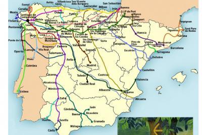 Imagen de la noticia: Constituida la Red Transfronteriza de los Caminos  ...