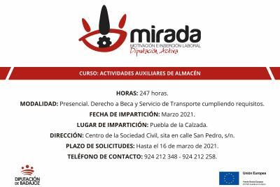 Imagen de la noticia: Va a comenzar en Puebla de la Calzada un curso de  ...