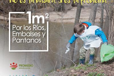 Imagen de la noticia Convocatoria de voluntariado para limpiar basura de riberas ?>