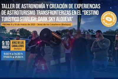 Imagen de la noticia: La Diputación organiza un taller de Astronomía p ...