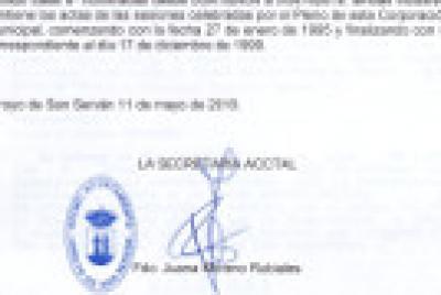 Imagen de la noticia: Archivo municipal de Arroyo de San Serván ...