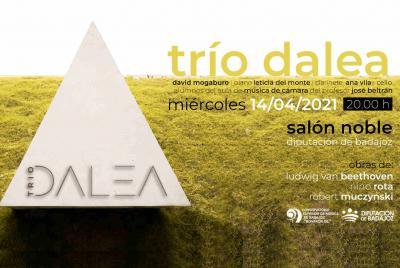 Imagen de la noticia: El Trío Dalea, integrado por alumnos del CSMB, of ...
