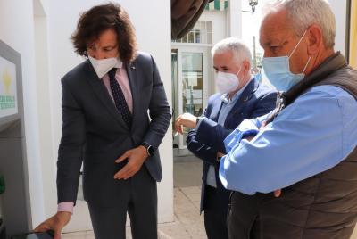 Imagen de la noticia La Diputación de Guadalajara se interesa por los cajeros au?>