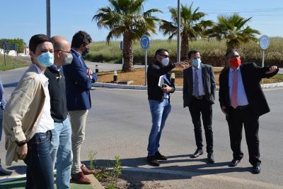 Imagen de la noticia: Las obras de la nueva travesía de Almendralejo se ...