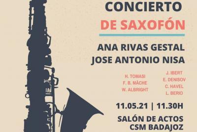 Imagen de la noticia: Concierto de Saxofón ...