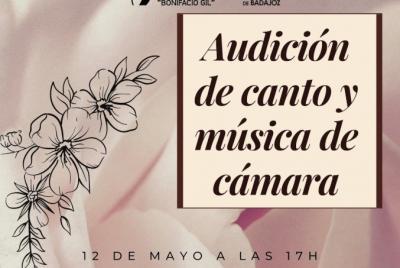 Imagen de la noticia: Audición de Canto y Música de Cámara ...