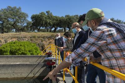 Imagen de la noticia: La modernización de la ETAP de Río Alcarrache ga ...