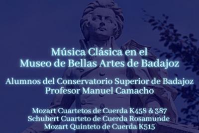 Imagen de la noticia: Cuartetos de cuerda del Conservatorio Superior de  ...