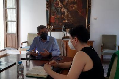 Imagen de la noticia: El diputado provincial González Ramiro visita la  ...