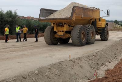Imagen de la noticia: Comienzan las obras de la carretera de circunvalac ...