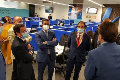 Imagen de la noticia Miguel Ángel Gallardo valora que con el nuevo call center d?>